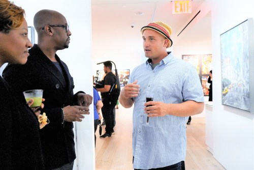 photos by Stella Magloire 67 - Event Recap: Danny Simmons Alone Together Private Reception at George Billis Gallery @ogilvy @rush_art @miolowinegroup_ #ShinjuWhisky #AloneTogether