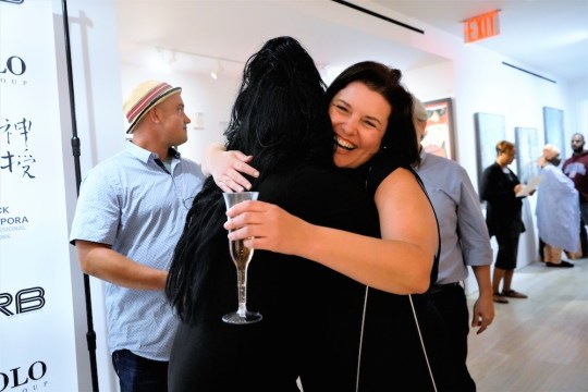 photos by Stella Magloire 99 540x360 - Event Recap: Danny Simmons Alone Together Private Reception at George Billis Gallery @ogilvy @rush_art @miolowinegroup_ #ShinjuWhisky #AloneTogether