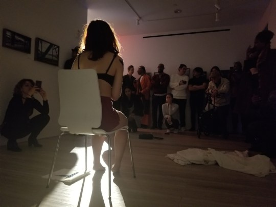 photos by Stella Magloire 14 540x405 - Event Recap: Art Now After Hours Episode 2 @artnowafterhours #artnownyc