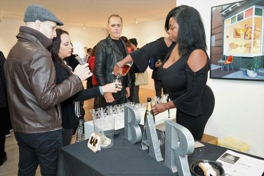 photos by Stella Maglore 37 1 540x360 - Event Recap: Karen Woods …Going Opening Reception at George Billis Gallery