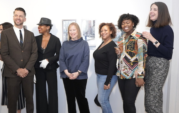 photos by Stella Maglore 69 1 - Event Recap: Karen Woods …Going Opening Reception at George Billis Gallery