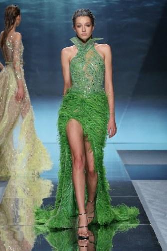 200122 1287 Nakad - Ziad Nakad #Atlantis #ParisFashionWeek Spring Summer Couture Collection 2020 @ZiadNakadWorld