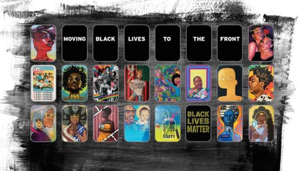 f Black Lives To the front 1 920x518 - Black Lives To The Front: An original art exhibit at the 2020 US Open #blacklivesmatter @usopen