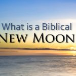 What is a new moon in the Bible
