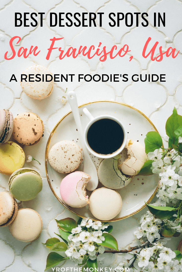 This is a resident foodie's guide to some of the best desserts in San Francisco that you will ever taste! So if you have a sweet tooth, read this post to satisfy your cravings for sweet treats in San Francisco , California and find some of the best bakeries, patisseries and instagram worthy hot spots that warrant repeat visits! Pin this to your foodie or California board now! Image: Copyright free, Brooke Lark, Unsplashed #sanfrancisco #foodieguide #california #usa #desserts #sweettooth #foodie