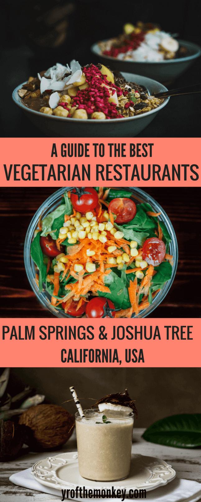 Best Vegetarian Restaurants In Palm Desert