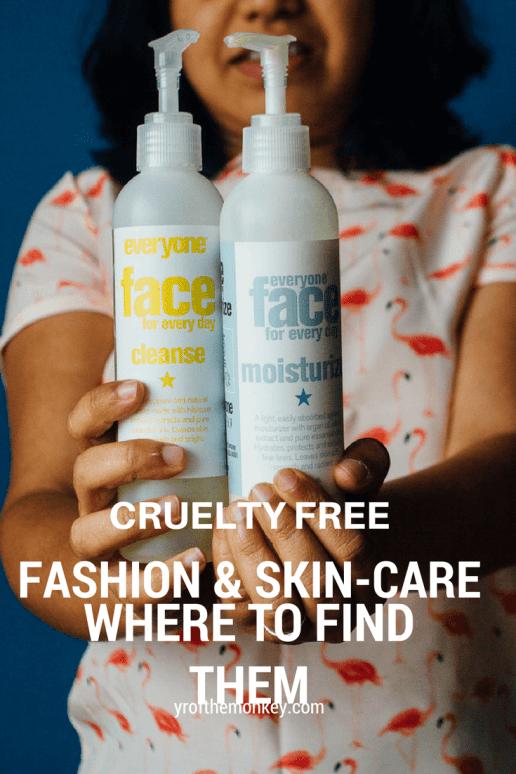 cruelty free fashion skincare PETA animal friendly no animal testing