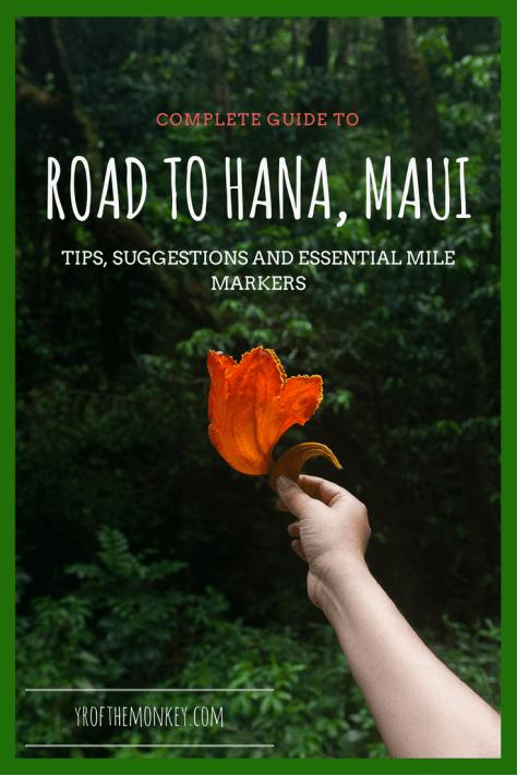 Road to Hana Maui Travel Hawaii guide