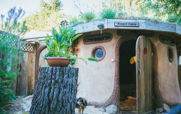 dog friendly glamping, pet friendly glamping in Northern California, Hobbit Cobin, dog friendly camping in northern California, dog friendly travel