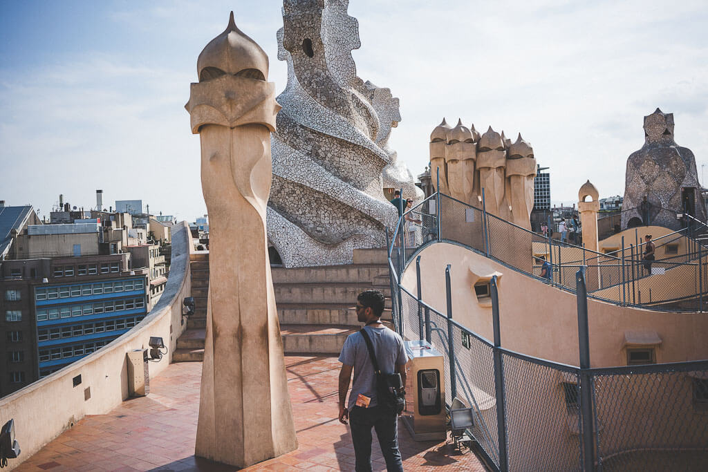 Self guided BarcelonaGaudítour, Gaudi walking tour, Gaudi's works in Barcelona, Gaudi architecture tour, Antoni Gaudi, Modernism architecture, Barcelona's famous buildings, three days in Barcelona, what to do in Barcelona in three days