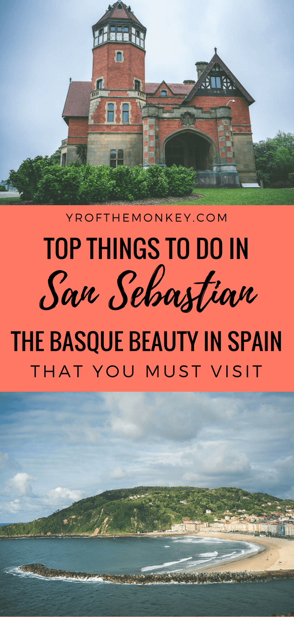 Let this San Sebastian itinerary be your guide to a completely different part of Spain, aka Basque country in the north facing the Atlantic Ocean. This San Sebastian guide covers the must see attractions, gorgeous views, Basque art and culture, bustling old town and of course the best places to eat since this is a culinary paradise. Pin this to your Spain or Europe board ASAP! #sansebastian #spain #europe #basquecountry #summervacation #europesummervacation #europetravel