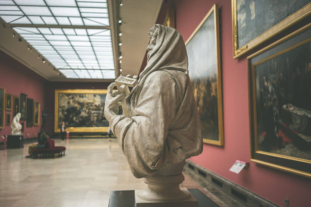 If you have three days in Poland, do see the Cloth Hall Museum which hosts 19th century Polish art