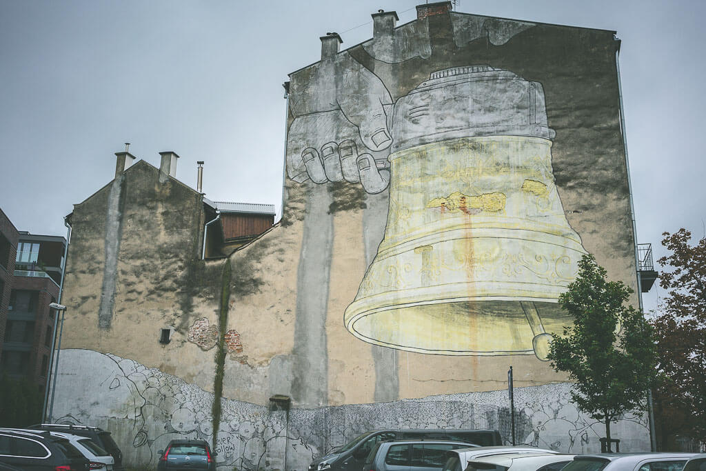 Murals in Podgorze, Krakow. Offbeat guide to 3 days in Krakow, Poland