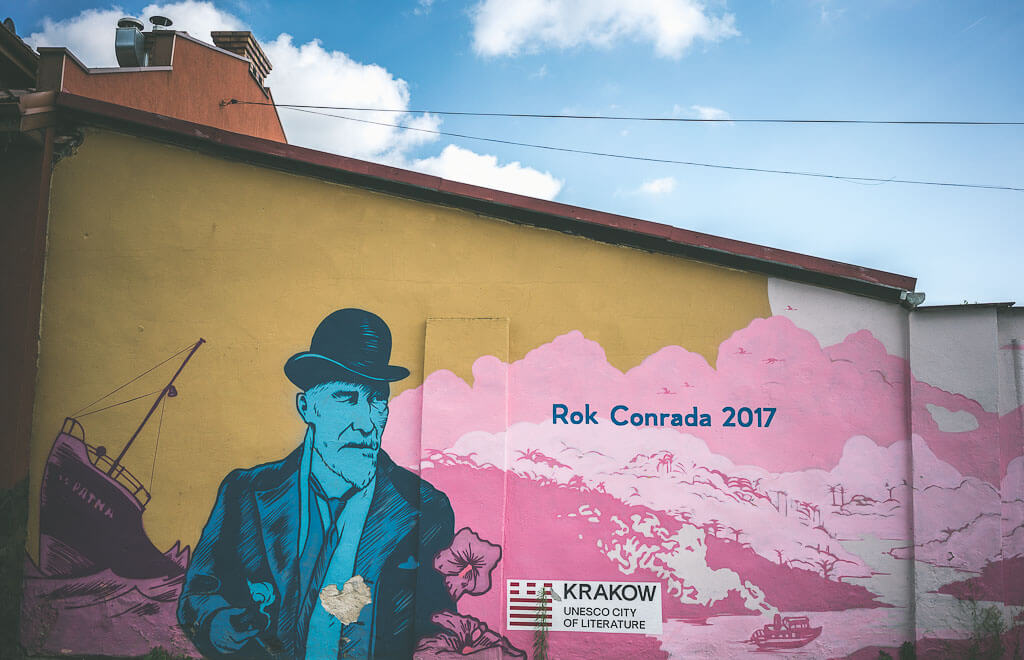 three days in Krakow, offbeat guide to Krakow, murals of krakow