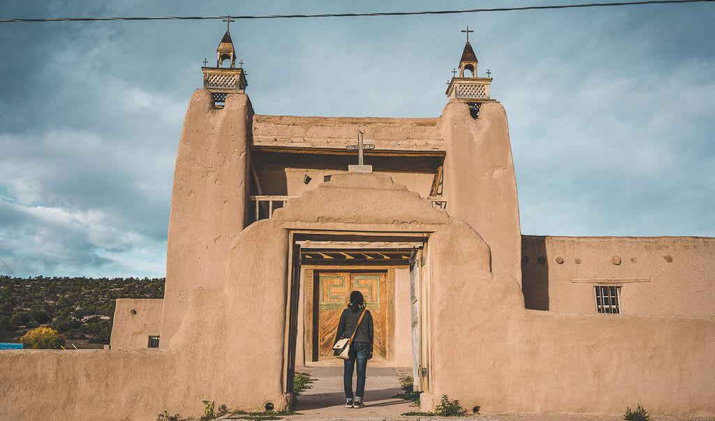 San Jose de Gracia, Las Trampas, Santa Fe to taos, Taos to Santa Fe, Scenic drive along the highroad from taos to Santa Fe
