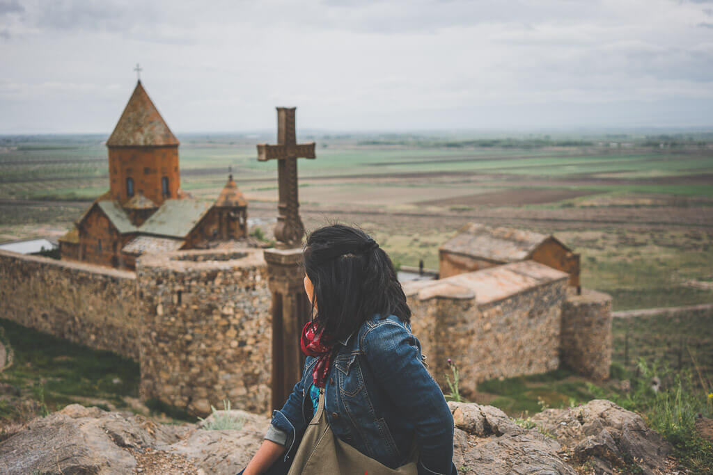 Khor Virap Monastery in Armenia is another easy day trip from Yerevan
