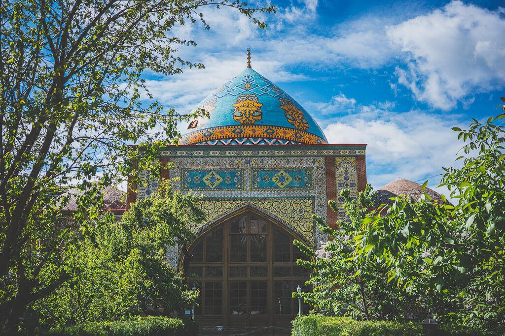 Blue Mosque, a Persian mosque in Yerevan, Armenia