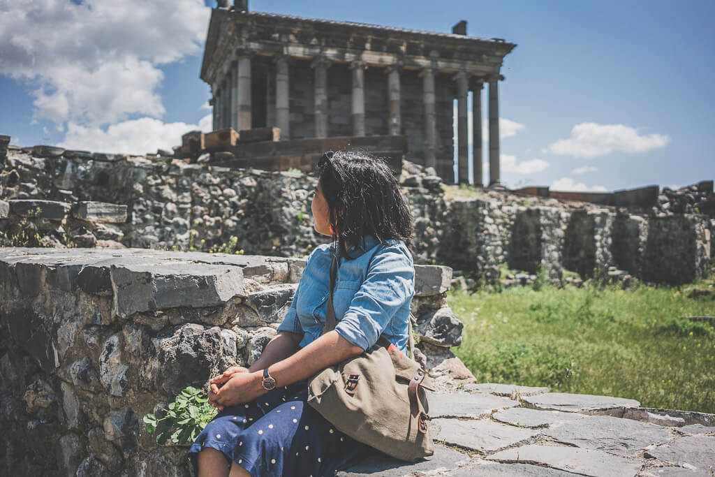 The temple of Garnia is a pagan temple in Armenia and is a must do day trip