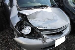 鈑金塗装で事故車修理