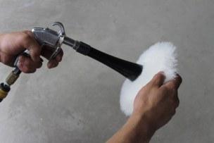 磨き用バフの掃除のやり方