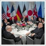 G7首脳会談、世界経済は「大きなリスクに直面している」