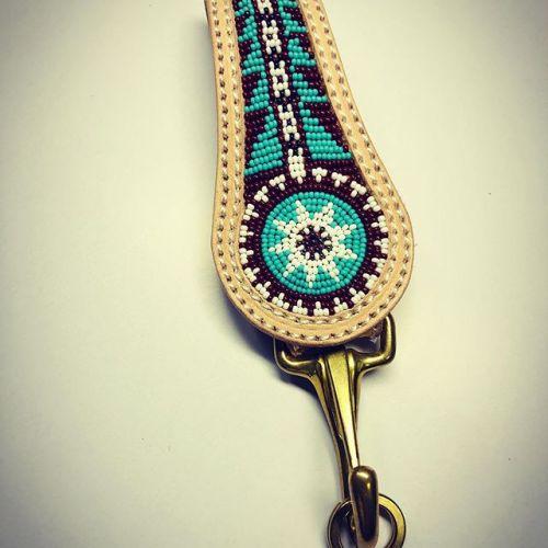 #keyholder #handmade #beadwork #leathercraft #buffalotracks #ご注文の品 #お待たせしました #ありがとうございます!