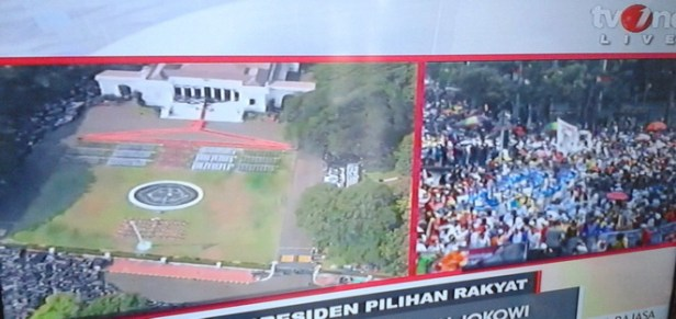 Suasana Istana Negara dan Pesta Rakyat
