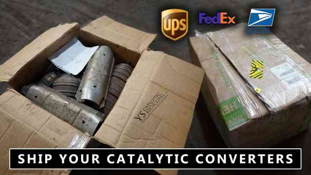 SHIP YOUR CATALYTIC CONVERTERS