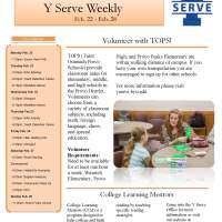 Y-Serve Weekly: Feb 22-28