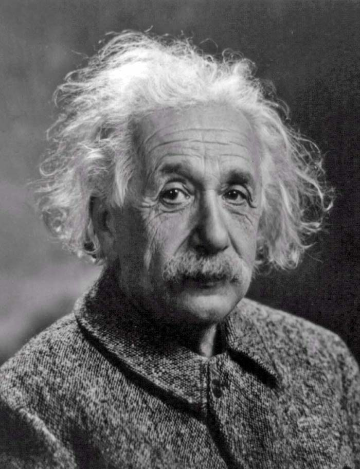 Albert Einstein things nuclear weapons are bad for humanity