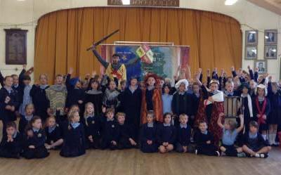 Owain Glyndŵr Show – Harlech Castle