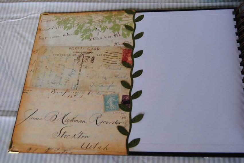 Libro de firmas interior