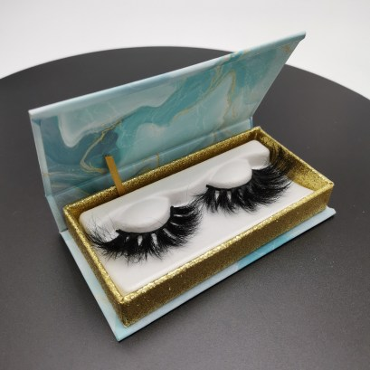 Environmental protection eyelash packaging box