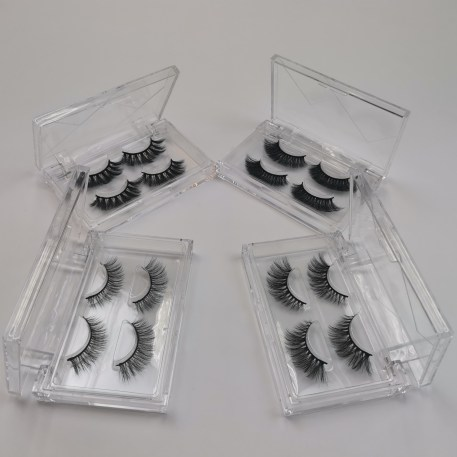 Wholesale Acrylic Eyelash Packaging Boxes