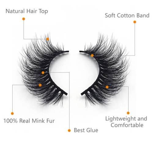 YSL Quality Mink Eyelashes