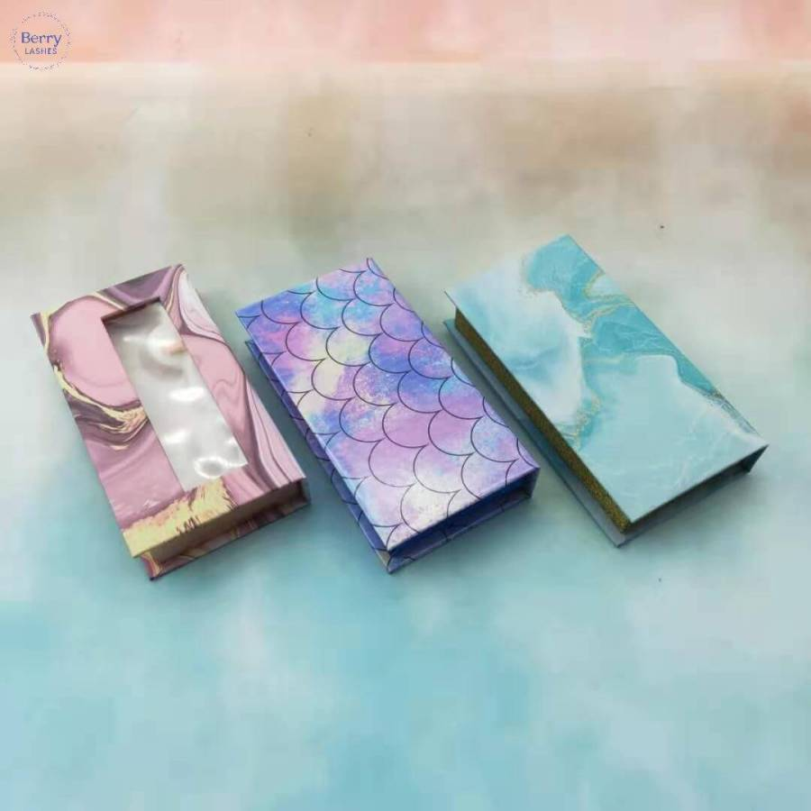 Environmental Custom Eyelash Boxes