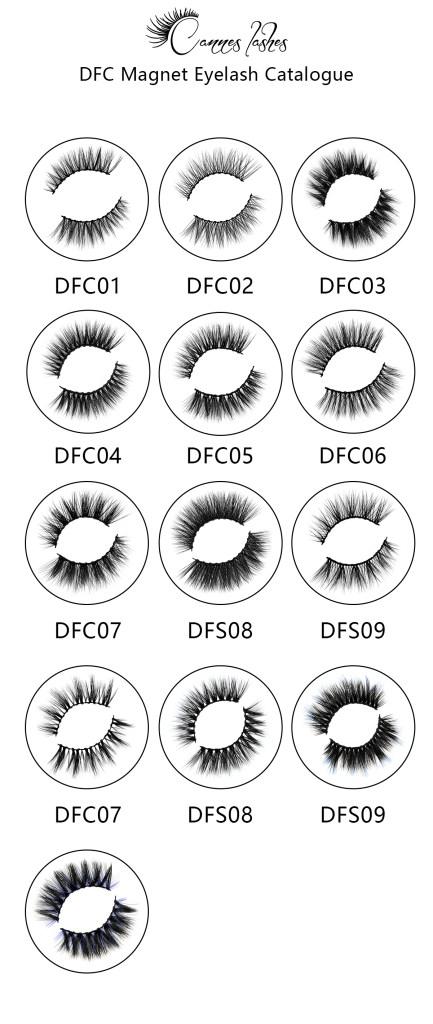 about magnetic eyelashes catalog