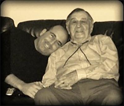 Grandson with Grandpa