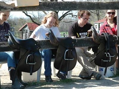Side saddle Seniors