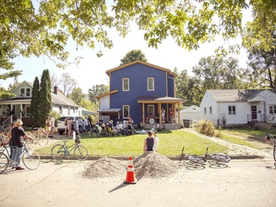 Surround sound: 2018 PorchFest in Yellow Springs