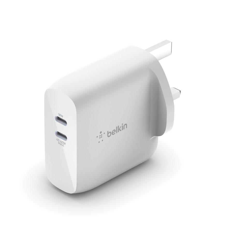 BOOST↑CHARGE 雙 USB-C PD GaN 家用充電器