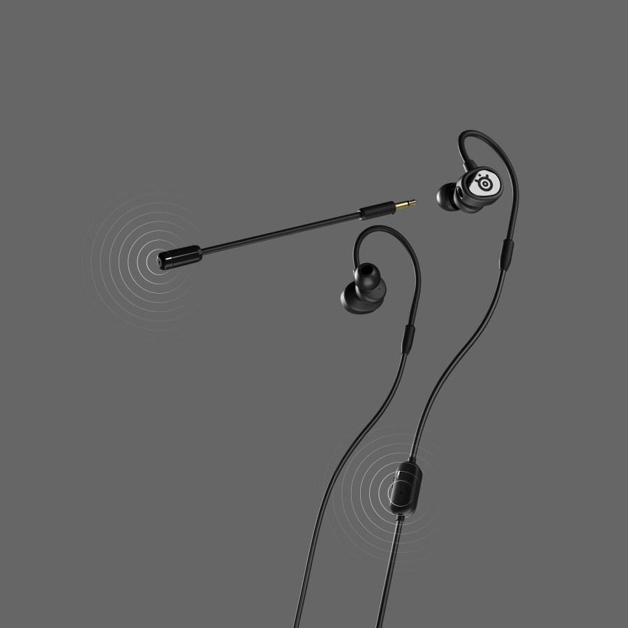 Steelseries Tusq 入耳式手遊電競耳機