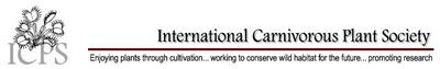 אתר האגודה הבינלאומית לצמחים טורפים, המכיל חומר רב