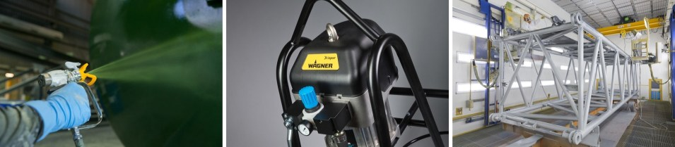 Yorkshire Spray Services Ltd – Wagner Protec 2 Component Action