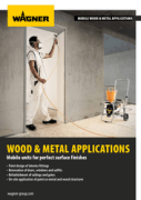 Open Wagner Wood & Metal Finishing Brochure