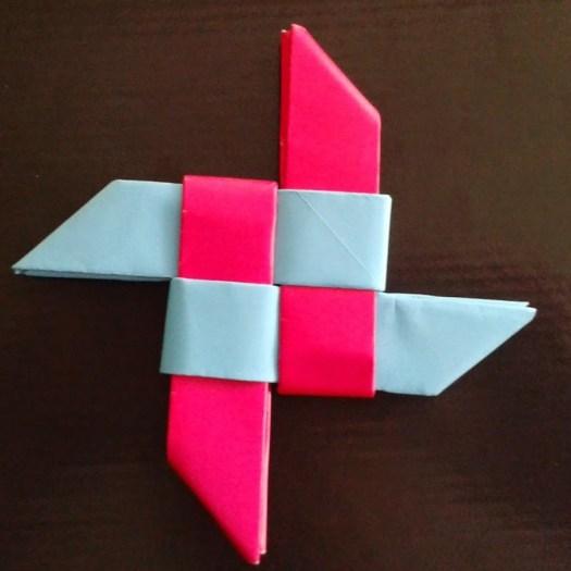 Origami Weapons Ninja Star Origami Tutorial Lets Make It