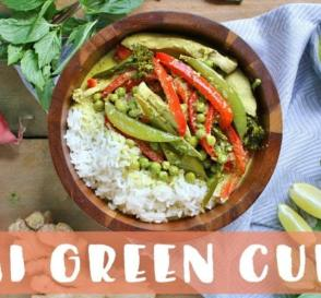 Thai Green Curry Recipe Healthy Dinner Ideas
