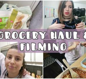 GROCERY HAUL FILMING GET READY WITH ME NIK MATT VLOG 38
