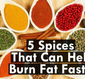 5 Spices That Can Help to Reduce Fat Faster