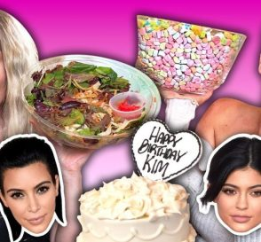 Trying the Kardashians Favorite Foods
